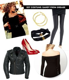 sandy from grease halloween costume / The Sweet Escape