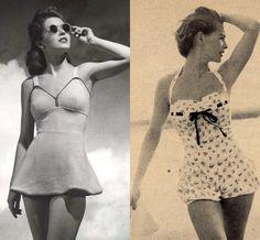 vintage swimsuit for women, swimwear, swimwear for women, swimsuit, one piece swimsuit