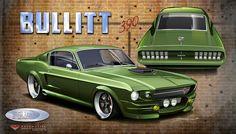 Bullitt 390 - Mustang (For a British builder that never built it...  vierstradesign.com