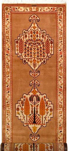 """Bakhtiari Persian Rug, Buy Handmade Bakhtiari Persian Rug 2' 9"""" x 14' 3"""", Authentic Persian Rug"""