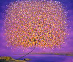 Vu Cong Dien - Changing Season. Art for color inspiration.