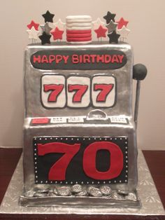 Slot machine cake usa - how to play slots at casino etiquette Funny Videos, Videos Fun, 70th Birthday Parties, Birthday Cake Girls, Birthday Cakes, Special Birthday, Happy Birthday, Jack O'connell, Casino Party Games