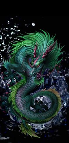 Mythical Creatures Art, Mythological Creatures, Fantasy Creatures, Cool Dragon Pictures, Dragon Images, Dragon Wallpaper Iphone, Mythical Dragons, Dragon Illustration, Rock Poster