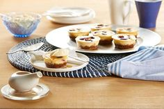 Try these divine little cheesecakes, packed with fresh cherries and flavoured with maple syrup.