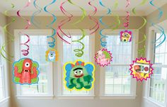 Yo Gabba Gabba! Hanging Swirl Value Pack, 85114