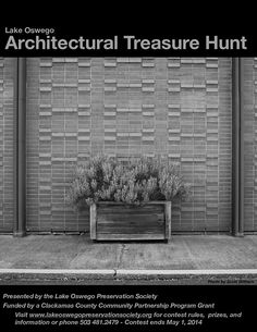 Architectural Treasure Hunt - Lake Oswego Preservation Society