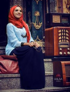 Egyptian street style inspirations for hijab
