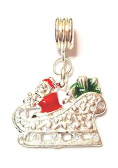 Personalized Items, Sled, Santa Clause, Silver, Schmuck, Gifts