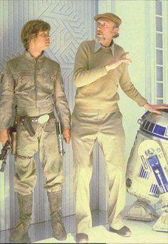 Star Wars behind the scenes.