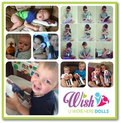 • WUWH Dolls are $44.95 each• WUWH Dolls are 32cm tall (white on the front with pic)• BOY material on the back (for BOY owner)• Images are Heat bonded (machine washable and won't peel)• I choose the material for the backing of your doll, I use only the best and latest quality designer fabrics ( you can specify a colour if you would prefer to but i will choose the print, I only do single people dolls, no group shots or couples due to printing restrictions.NOTE: Wish U...