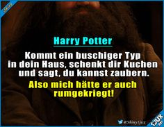 Hauptsache Kuchen! :P #Potterliebe #Hagridisttoll #Kuchen #verfressen #Witze #Humor