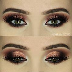 maquillaje ojos, maquillaje para, para mujeres, barra labios, ahumado maquillaje, color rosa - 15 maquillaje miradas atractivas para diferentes ocasiones