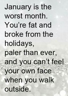 Sad but true!