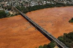 Mariana rio doce lama MG - 05/11/2015