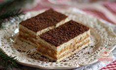Gesztenyés karamellás keksz szelet Tiramisu, Ethnic Recipes, Food, Caramel, Meal, Essen, Hoods, Tiramisu Cake, Meals