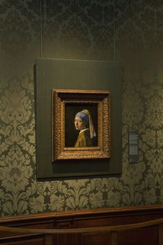 Johannes Vermeer, Girl with a Pearl Earring, On view in the Mauritshuis, The Hague. Delft, Johannes Vermeer, Museum Of Fine Arts, Art Museum, Girl With Pearl Earring, Belgian Pearls, Dutch Artists, Love Art, Oeuvre D'art