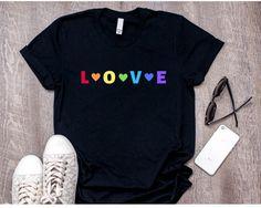 Love Wins T-shirt Gay Pride shirt Gay T-shirt Lesbian Shirt Equality T-shirt Rainbow T-shirt Rainbow shirt LGBT LGBT Pride - Fashionable T Shirt - Ideas of Fashionable T Shirt - Love Wins T-shirt Gay Pride shirt Gay T-shirt Lesbian Love T Shirt, Shirt Style, Hipster Rock, Gay Pride Shirts, Pride Merch, Equality Shirt, Pride Outfit, T Shirt World, Direct To Garment Printer