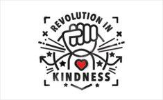Tann Westlake Creates Branding for 'Revolution in Kindness' - Logo Designer