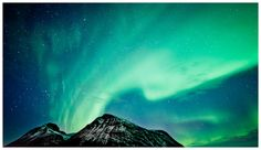 """Aurora Mountain"" by Bjørn Leirvik"