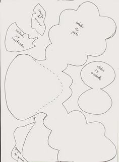 Kawaii Feltros | Artigos em Feltro: PAP Lili - Meu Amigãozão