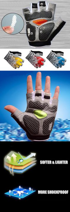 [Visit to Buy] Men & Women Sports Gloves for Gym Fitness Exercise Power Training Body Building Workout Dumbbell Weight Lifting Crossfit Grip #Advertisement