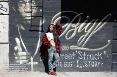 Teyana Taylor Models the Coolest Fall Looks  - ELLE.com
