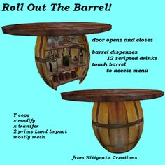 Roll out the barrel box