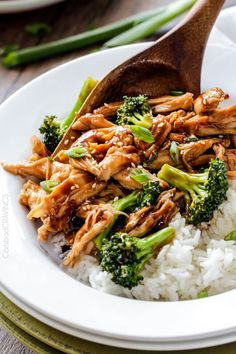 Slow Cooker Mongolian Chicken smothered in the most irresistible sauce is my Go-To slow cooker meal and way better than takeout! A little hotter & use rice wine TB Slow Cooker Chicken Dishes, Slow Cooker Recipes, Crockpot Recipes, Chicken Recipes, Cooking Recipes, Healthy Recipes, Slower Cooker Chicken, Crockpot Dishes, Bariatric Recipes
