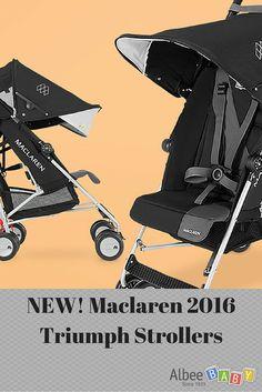 new! maclaren 2016 quest strollers #albeebaby | what's new