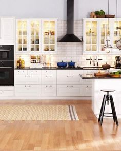 A gorgeous kitchen that looks like it came out of an IKEA catalog