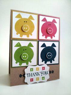 Oink you by ocstamper34 - Cards and Paper Crafts at Splitcoaststampers