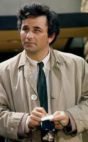 9 november 2012: Probleemoplosser. Foto: Peter Falk als de altijd wat sjofele, onhandige, hannesende Columbo in de gelijknamige TV serie