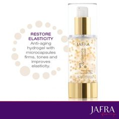 Restore the elasticity in your skin with microcapsules that work to restore collagen. http://jafra.me/z3w