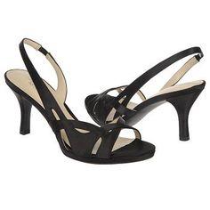 Womens Naturalizer Kadie Black Crystal Satin Shoes.com