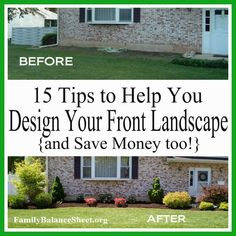 Dos and don ts of front yard landscape gardens for Design your own front yard