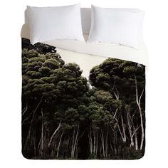 Chelsea Victoria Do Not Go Into The Woods Duvet Cover   DENY Designs Home Accessories