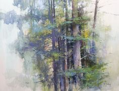 Playing the Painting Game | What to Do When You're Striking Out; High in the Cascades (en plein air pastel, 15×18) by Richard McKinley