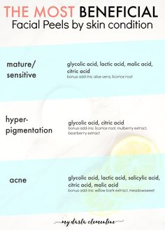 How to exfoliate your skin like a pro using food - most beneficial peels by skin condition