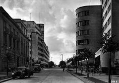 gdynia 1932 Visit Poland, Cool Countries, Ul, Street View, History, City, Vintage, Fotografia, Historia