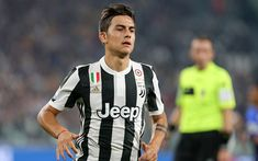 Download wallpapers Paulo Dybala, football, Juventus, Turin, Italy, Serie A, portrait