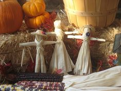 how to make corn husk dolls