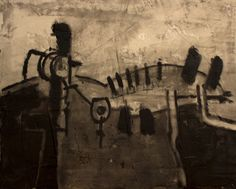 """""""Pintura_107"""" Oil+Mixed 41x33cm. / Bernardo Guerra"""