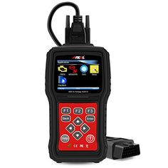 ANCEL AD610 Enhanced Version Multifunction ABS  Airbag Reset Tool Car Repairing Engine Detecting Diagnostic Scanner OBD I and OBD II Fault Code Reader -- To view further for this item, visit the image link.Note:It is affiliate link to Amazon.
