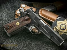 Jason Burton Custom M1911A1 Semi-Auto Handgun 1911 Pistol, Colt 1911, Revolver, Weapons Guns, Guns And Ammo, Burton Custom, M&p 9mm, Custom 1911, Firearms