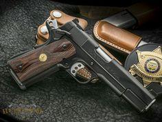 Jason Burton Custom M1911A1 Semi-Auto Handgun
