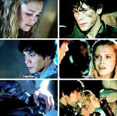 Bellarke bellamy clarke the 100 Bellarke, Clarke The 100, I Cant Lose You, The 100 Show, Cw Series, Head And Heart, Slow Burn, Book People, Wattpad