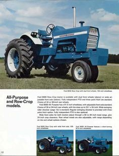 FORD 8000 Ad