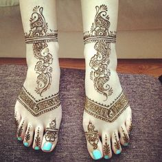 Bridal #henna #hennasooq feet !!! Gorgeous!!! | Flickr - Photo Sharing!