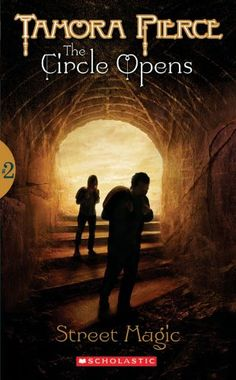 Street Magic (The Circle Opens, Book 2) by Tamora Pierce https://www.amazon.com/dp/0590396439/ref=cm_sw_r_pi_dp_x_nwFgAbTX5CM2A