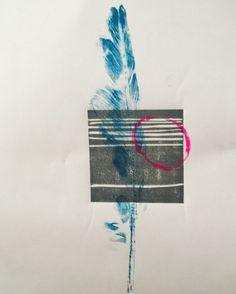 rememberance series no.01 monoprint and linocut #printmaking #remembrance #nikicottonartdotcom #linocut #monoprint